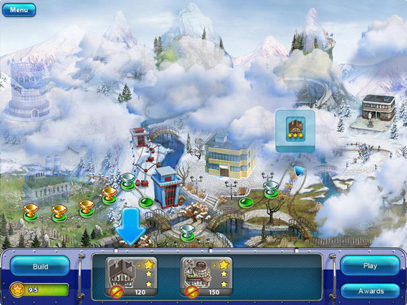 Screenshot af Ski Resort Mogul