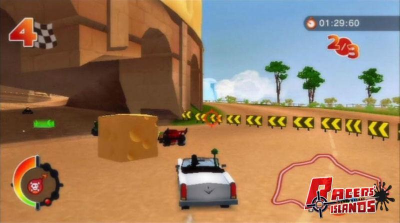 Screenshot af Racers' Island: Crazy Racers