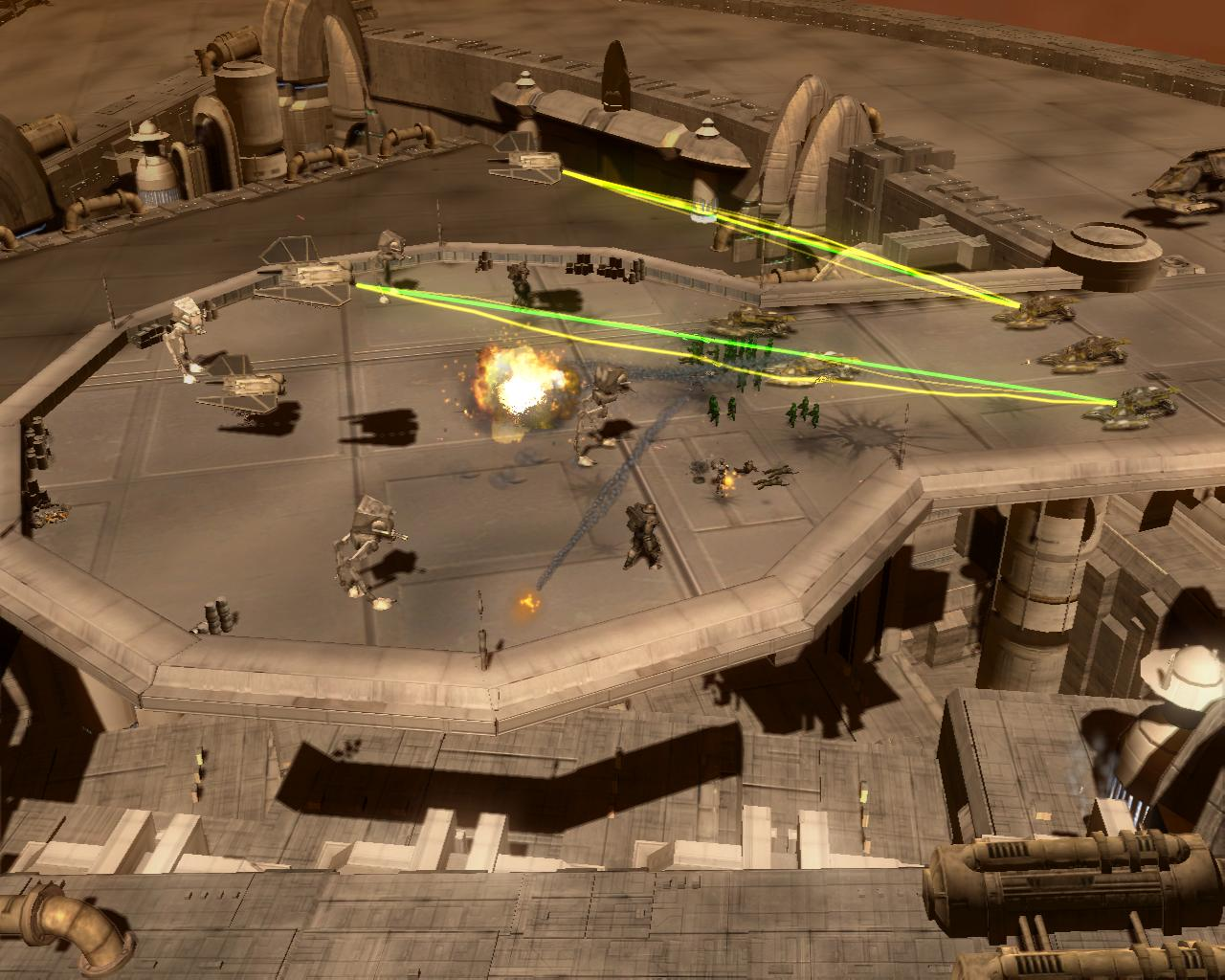 Screenshot af Empire at War: Forces of Corruption
