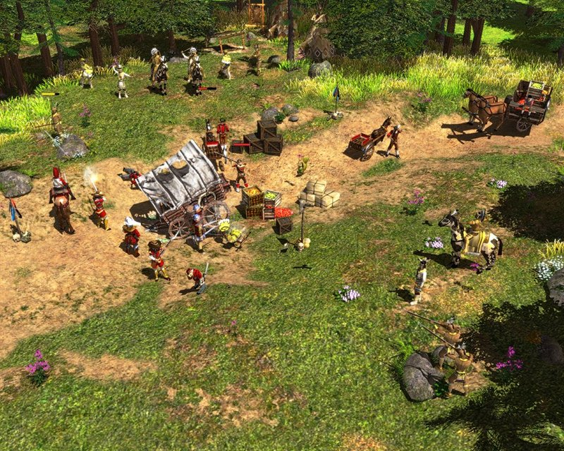 Screenshot af Age of Empires 3: The Asian Dynasties