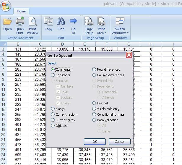 Screenshot af Microsoft Office Excel Viewer