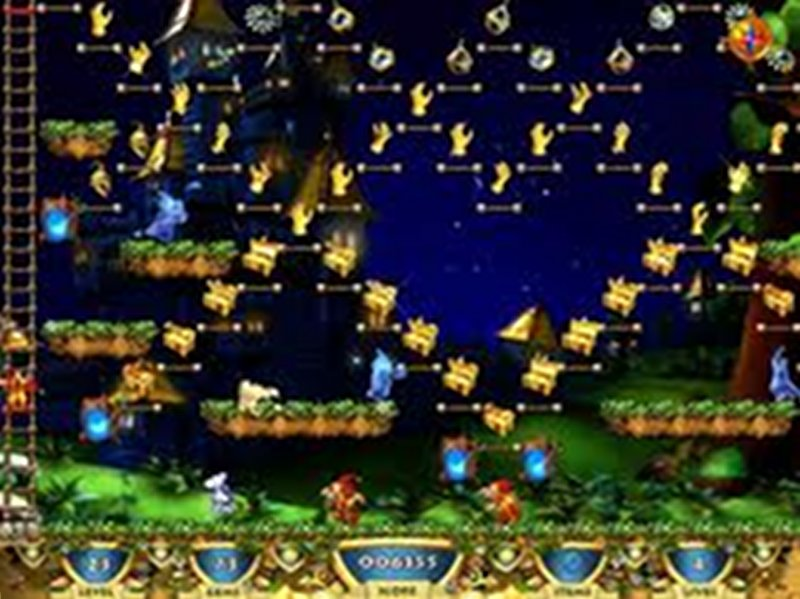 Screenshot af Snowy Treasure Hunter 3