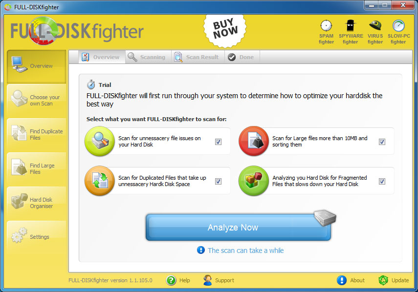 Screenshot af FULL-DISKfighter