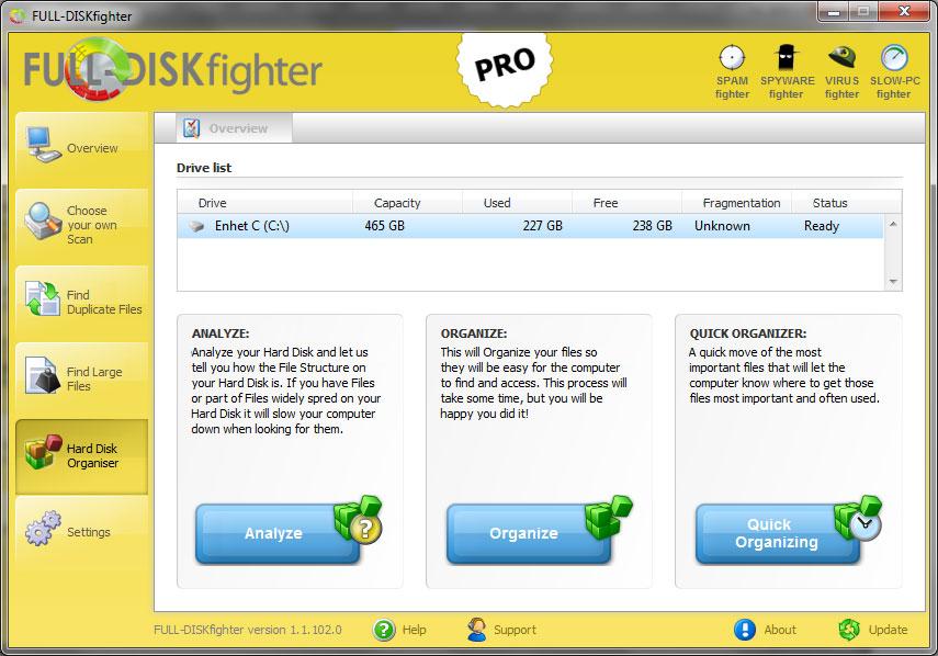Screenshot af FULL-DISKfighter