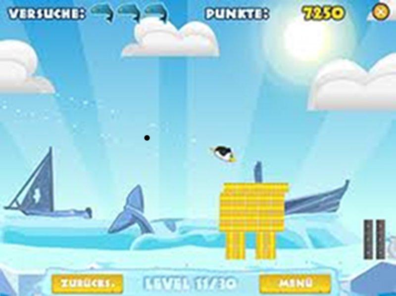 Screenshot af Pengu Wars