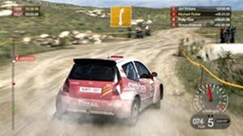 Screenshot af DIRT 2