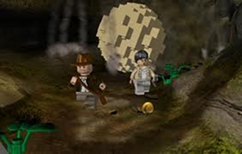 Screenshot af LEGO Indiana Jones