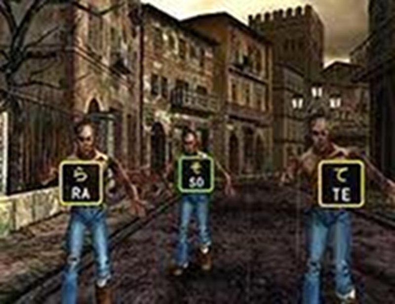 Screenshot af The Typing of the Dead