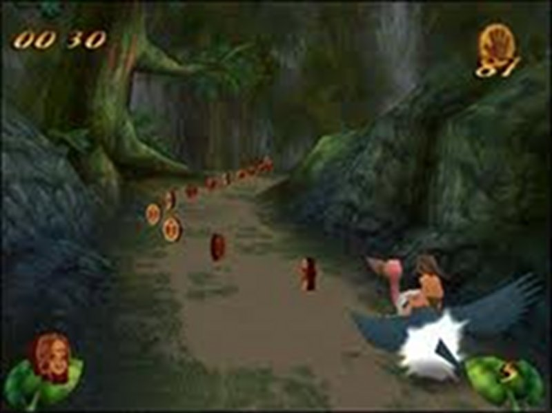 Screenshot af Disney's Tarzan Action Game