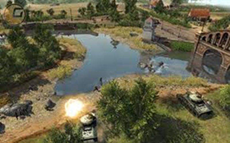 Screenshot af Men of War: Assault Squad