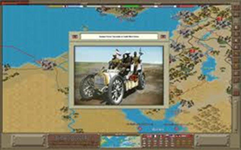 Screenshot af Strategic Command: World War 1 The Great War