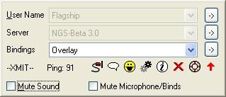 Screenshot af Ventrilo til Mac