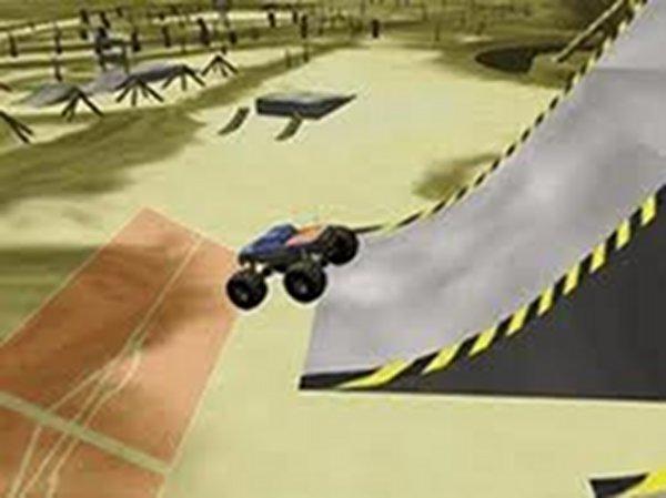 Screenshot af Monster Truck Stunts