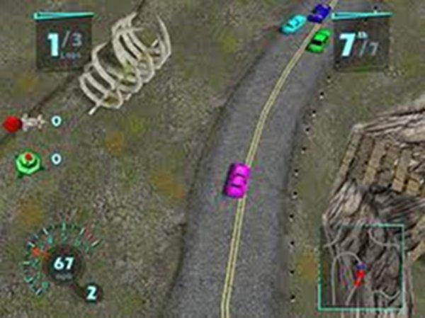 Screenshot af Arcade Race