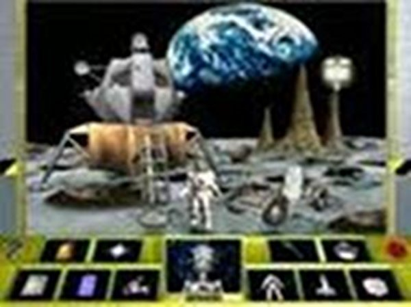 Screenshot af 3D Space Station Adventure
