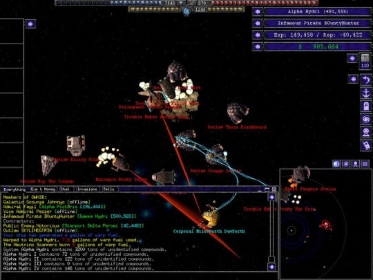 Screenshot af Starport Galactic Empires