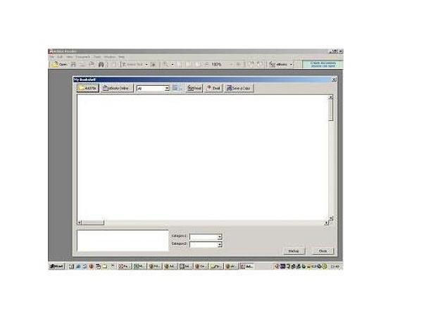 Screenshot af Adobe Reader til Mac