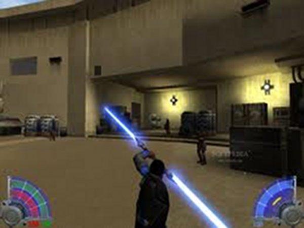 Screenshot af Jedi Knight: Jedi Academy Single-Player