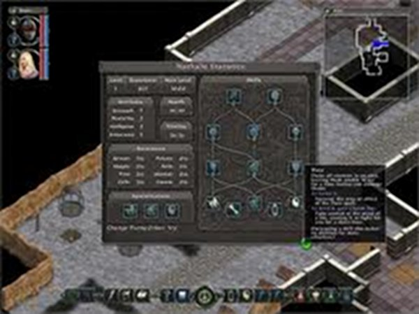 Screenshot af Avadon: The Black Fortress