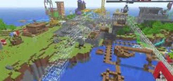 Screenshot af Minecraft