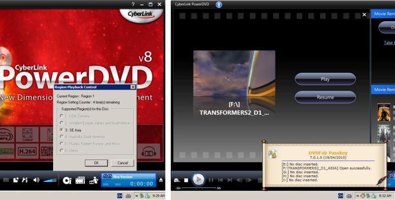 Screenshot af DVDFab PassKey for Blu-ray
