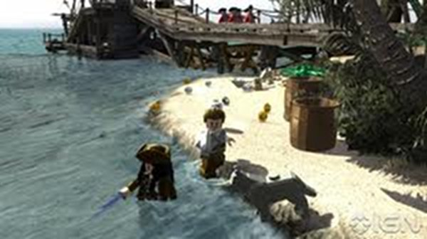 Screenshot af LEGO Pirates of the Caribbean