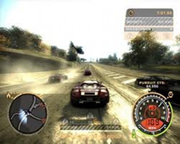 Screenshot af Need for Speed World