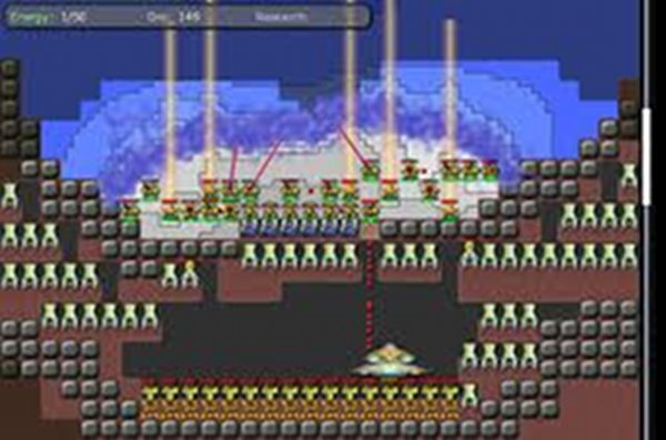 Screenshot af Creeper World 2