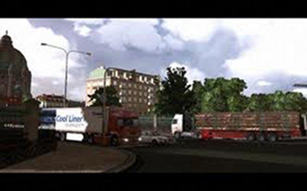 Screenshot af Trucks and Trailers