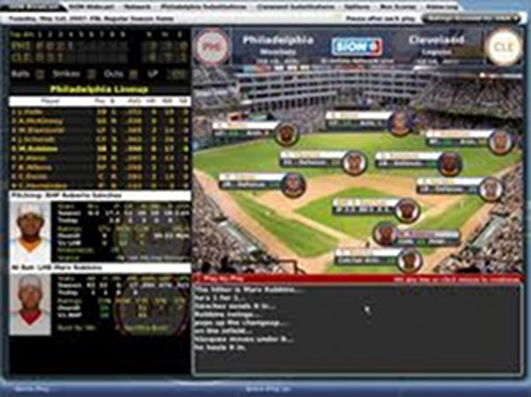 Screenshot af Out of the Park Baseball 12