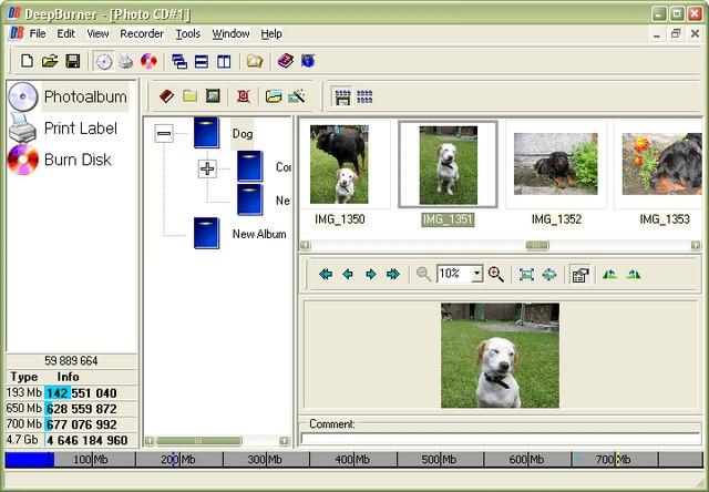 Screenshot af DeepBurner Pro Personal