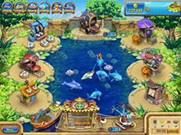 Screenshot af Farm Frenzy Gone Fishing!