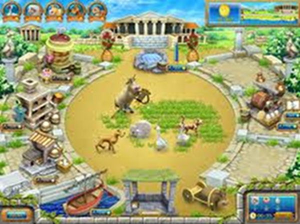 Screenshot af Farm Frenzy: Ancient Rome