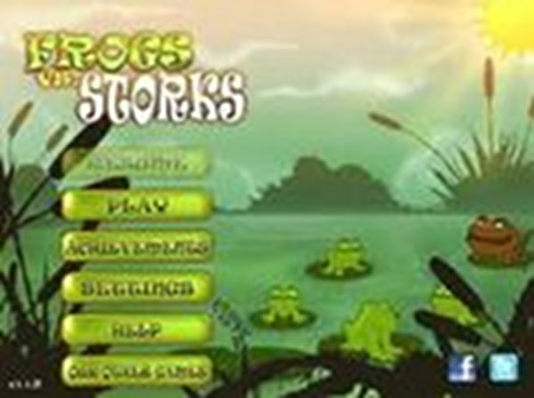 Screenshot af Frogs vs Storks