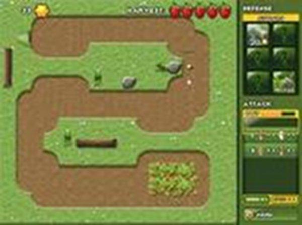 Screenshot af Garden Panic