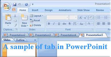 Screenshot af Office Tab