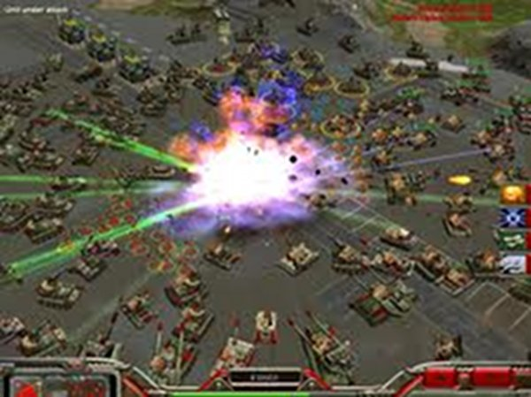 Screenshot af Command & Conquer Generals