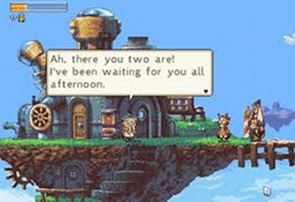 Screenshot af Owlboy
