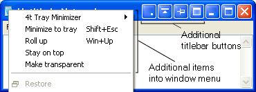 Screenshot af 4t Tray Minimizer Free