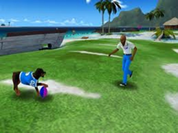 Screenshot af Jerry Rice & Nitus' Dog Football