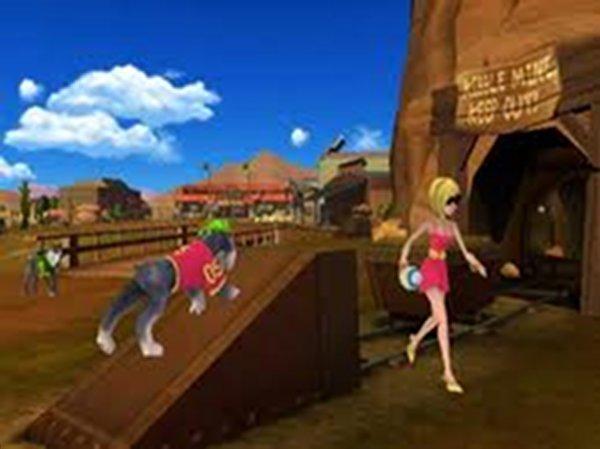 Screenshot af Jerry Rice & Nitus' Dog Football