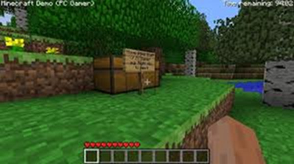 Screenshot af Minecraft til Mac
