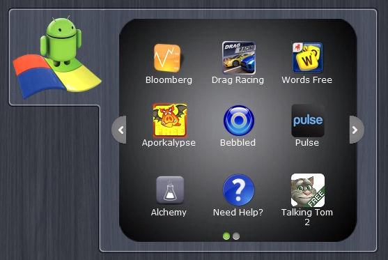 Screenshot af BlueStacks App Player (alpha)