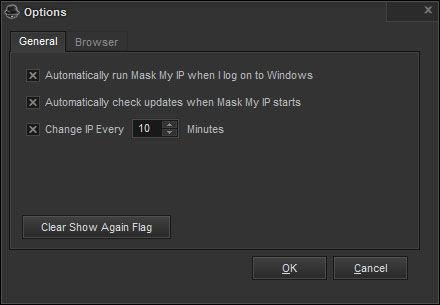 Screenshot af Mask My IP