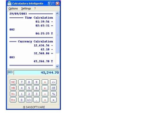 Screenshot af Calculadora Inteligente FREE
