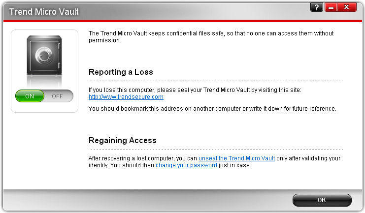 Screenshot af Trend Micro Maximum Security