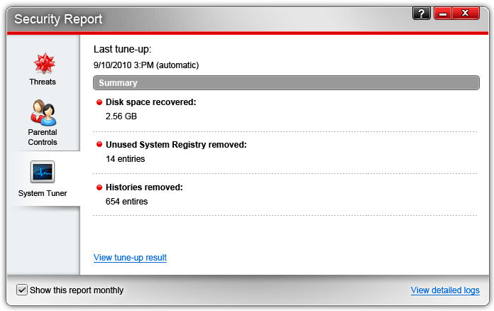 Screenshot af Trend Micro Maximum Security