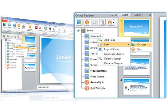Screenshot af Zenler Studio Pro