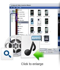 Screenshot af Aimersoft Video Converter Ultimate