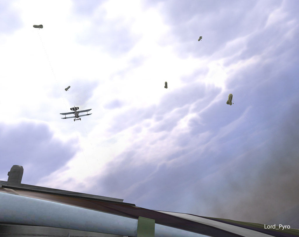 Screenshot af Rise of Flight
